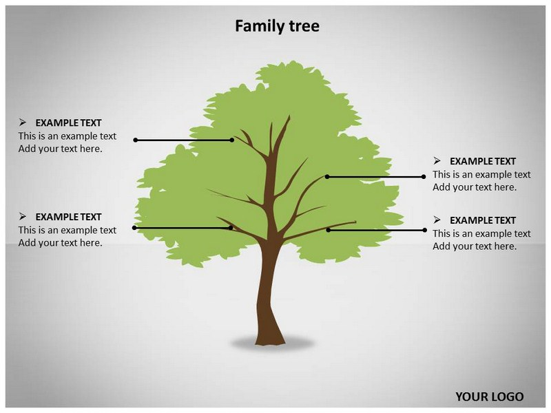 Family Tree Powerpoint Template Boatremyeaton