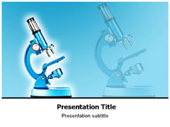 Microscope Powerpoint Template | Medical Powerpoint(PPT) Templates